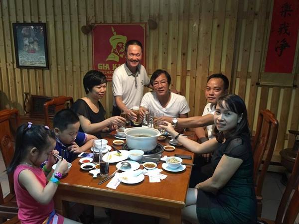Lẩu nấm Gia Khánh với NSUT Đạo điễn, diễn viên Trọng Trinh